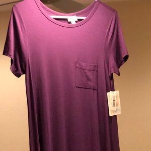 🦄💜 NWT XXS Plum Purple LuLaRoe Carly Dress 💜🦄